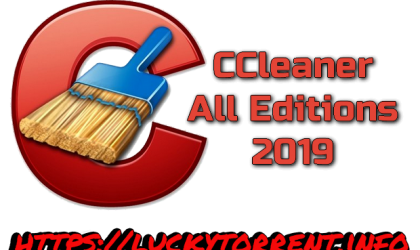 CCleaner All Editions 2019 Torrent
