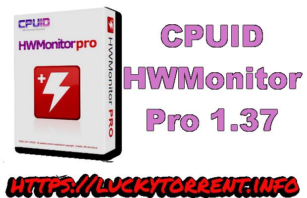CPUID HWMonitor Pro 1.37 + Crack