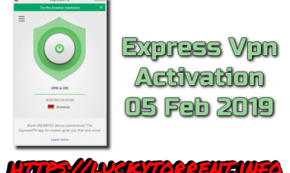 Express Vpn Activation 05 Feb 2019