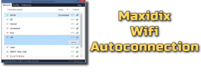 Maxidix Wifi Autoconnection Torrent
