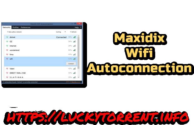 Maxidix Wifi Autoconnection Torrent