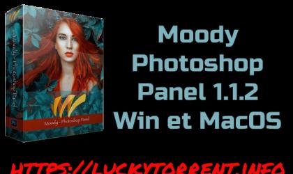 Moody Photoshop Panel 1.1.2 Torrent Win et macOS