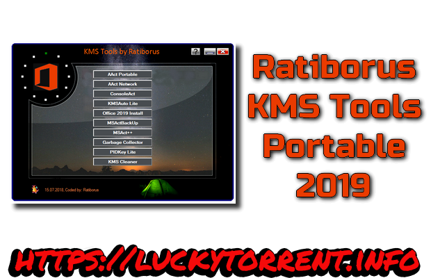 Ratiborus KMS Tools Portable 2019 Torrent