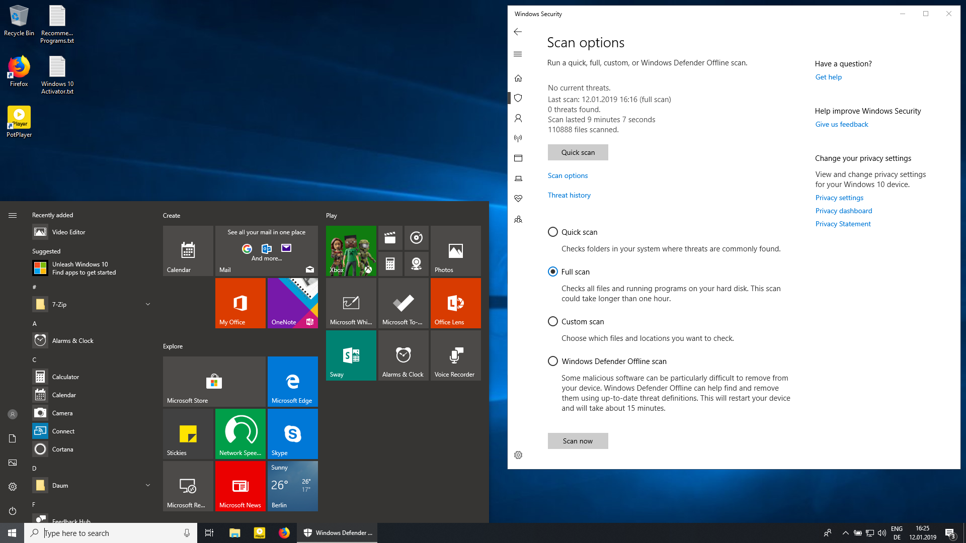 Windows 10 Enterprise 1809 x86 Édition intégrale 2019 Torrent