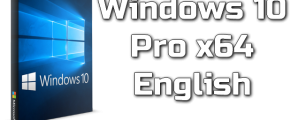 Windows 10 Pro x64 English Torrent