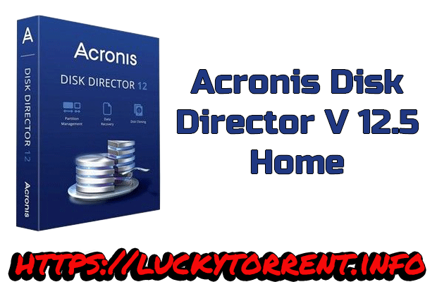 Acronis Disk Director 12.5 Home