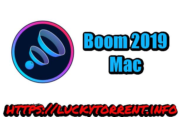 Boom 2019 Mac Torrent