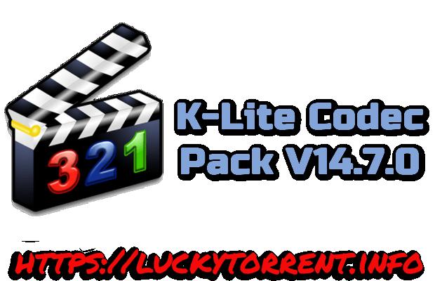 K-Lite Codec Pack 14.7.0 Torrent