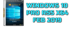 WINDOWS 10 PRO RS5 X64 FEB 2019 Torrent