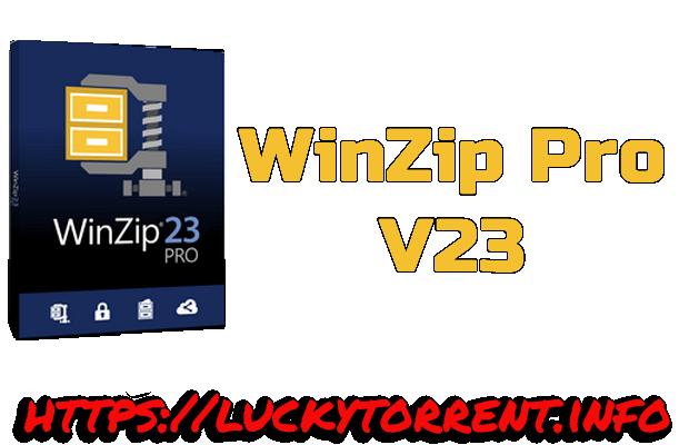 WinZip Pro 23 Torrent