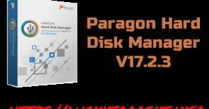 paragon Hard Disk Manager 17.2.3