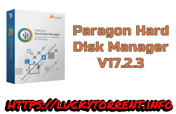 Photo of paragon Hard Disk Manager 17.2.3