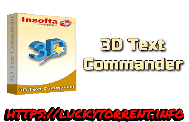 3D Text Commander Torrent