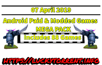 Android Games Mega pack 2019 Torrent