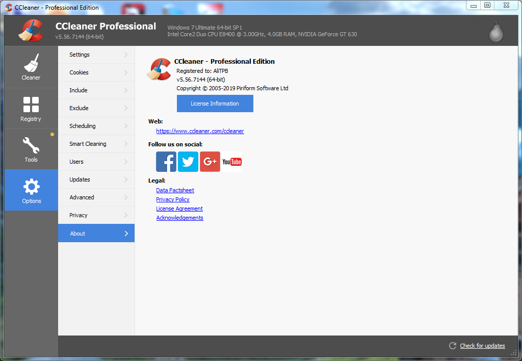 Photo of CCleaner Professional 2019 + key