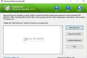 Password Recovery Bundle 4.6 Torrent