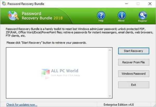 Password Recovery Bundle 4.6 Torrent