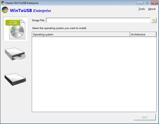WinToUSB Enterprise v4.5 Crack