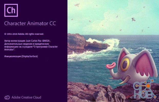 Adobe Character Animator CC 2019 v2.1.1 RePack