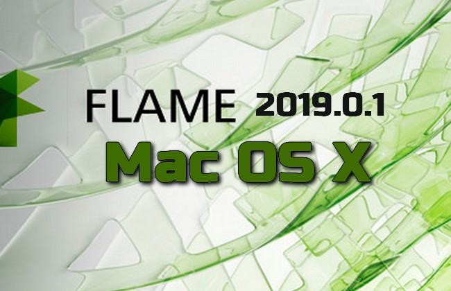 Autodesk Flame 2019.0.1 Mac OS X