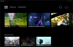 Dolby Access Premium 2019 pour Window 10
