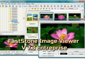 FastStone Image Viewer 7.3 Entreprise Torrent