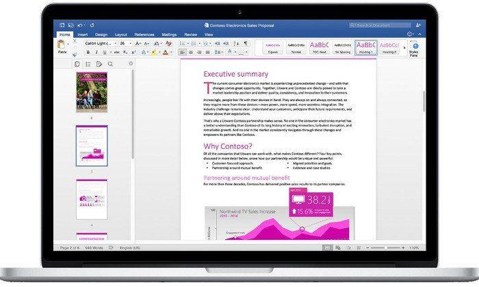 Microsoft Word 2019 VL Mac OS X