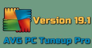 AVG PC Tuneup Pro 19.1