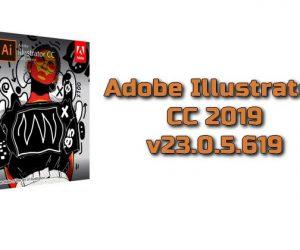 Adobe Illustrator CC 2019 v23.0.5.619