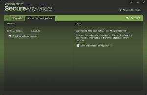 Webroot SecureAnywhere AntiVirus Torrent