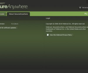 Webroot SecureAnywhere AntiVirus Torrent