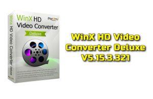 WinX HD Video Converter Deluxe 5.15.3.321