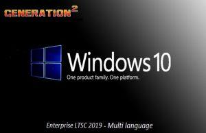 Windows 10 Entreprise LTSC 2019 X64 JUILLET 2019