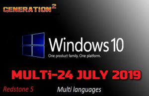 Windows 10 Pro Redstone 5 X64