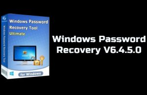 Windows Password Recovery 6.4.5.0