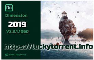 Adobe Dimension CC 2019 v2.3.1.1060 Torrent