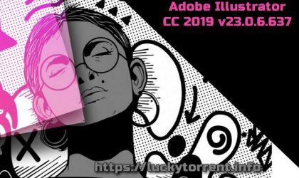 Adobe Illustrator CC 2019 v23.0.6.637 Torrent