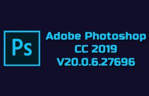 Adobe Photoshop CC 2019 v20.0.6.27696