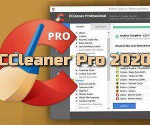 CCleaner Professional 2020 + Clé