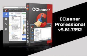 CCleaner Professional v5.61.7392 Torrent
