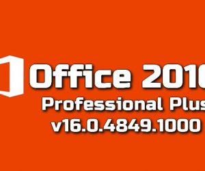 Microsoft Office 2016 Professional Plus v16.0.4849.1000