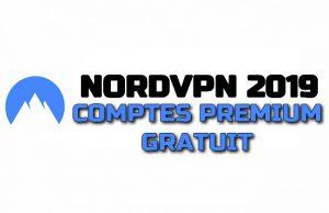 NORD VPN 2019 COMPTES PREMIUM GRATUIT