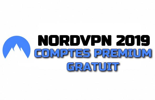 Photo of NORD VPN 2019 COMPTES PREMIUM GRATUIT