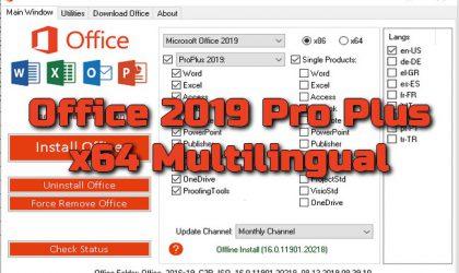 Torrent Office 2019 Pro Plus x64 Multilingual