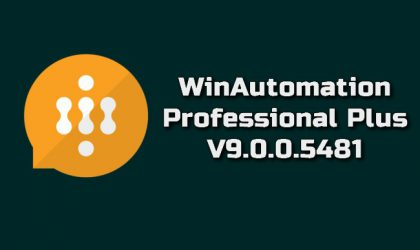 WinAutomation Professional Plus 9.0.0.5481