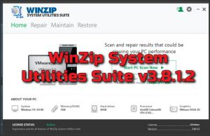 WinZip System Utilities Suite v3.8.1.2