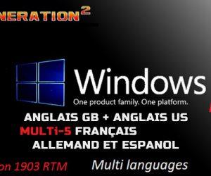 Windows 10 Pro X64 3in1 2019