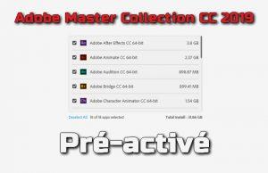 Adobe Master Collection CC 2019 pré-activé Torrent