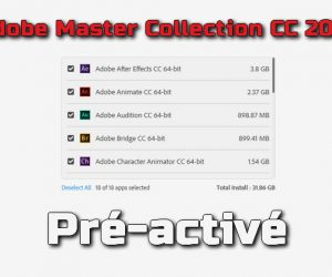 Adobe Master Collection CC 2019 pré-activé Torrent
