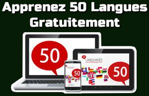 Apprenez 50 langues gratuitement